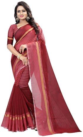 Cotton Chanderi Saree