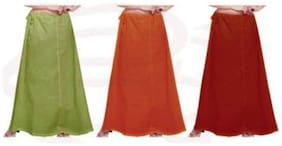 NewLadiesZone  Multi Cotton Peticoat