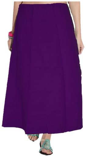 Newladieszone Purple Cotton Peticotes