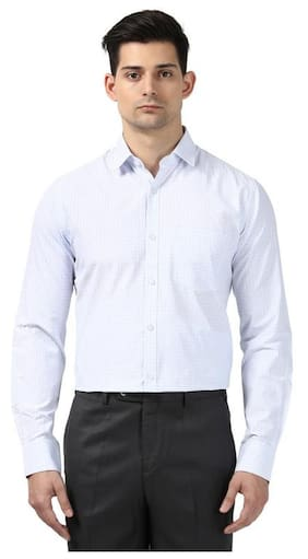 Nextlook Men Slim Fit Formal Shirt - White