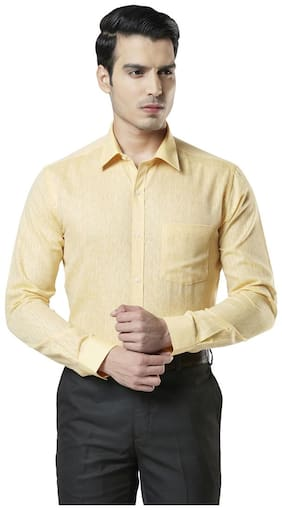 Men Slim Fit Solid Formal Shirt ,Pack Of Pack Of 1