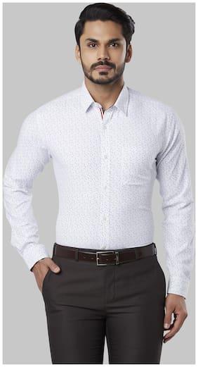 Men Slim Fit Printed Formal Shirt ,Pack Of Pack Of 1