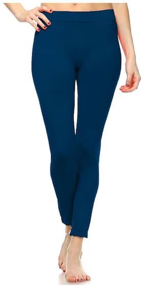 NICHE CODE Women Ankle Length Solid Leggings