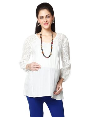 Nine Maternity Blouse