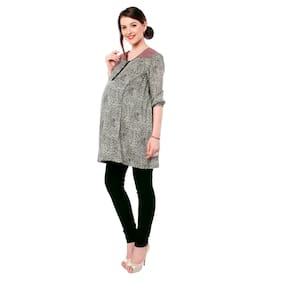 Nine Maternity Women Maternity Top - Multicolor Xxl
