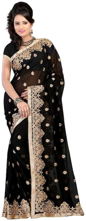 Georgette Universal Saree ,Pack Of 1