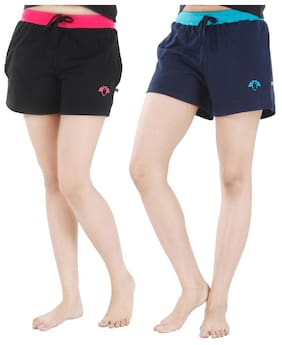 Nite Flite Athletic Cotton Hot Shorts - Pack of 2