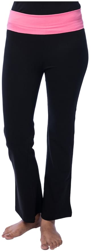 And Track Flite Cotton Black Pant Nite Lycra qtwA6nW67