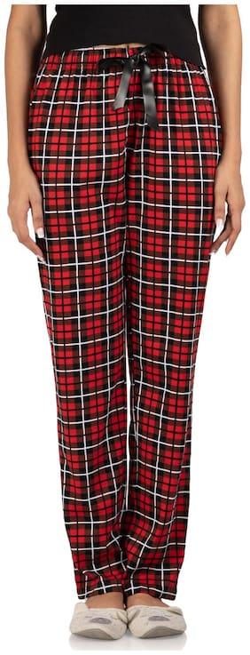 Nite Flite Women Cotton Printed Pyjama - Multi