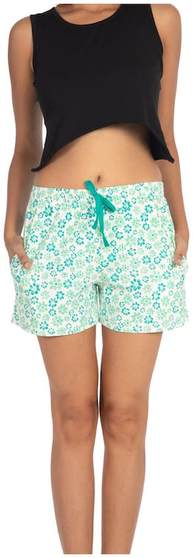 Nite Flite Women Printed Regular shorts - Multi