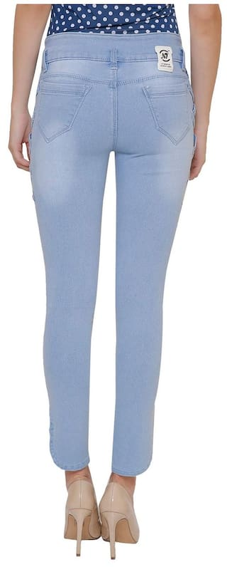 Women Denim High NIY Ice Blue Waist NJs Jeans IB1122 wBpaqp