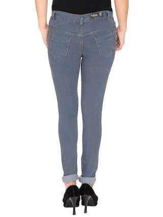 Silky Jeans Women NJs;Grey Low Waist Denim PqZtW6wRxH