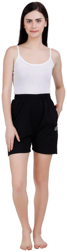 Women Blended Regular Fit Shorts