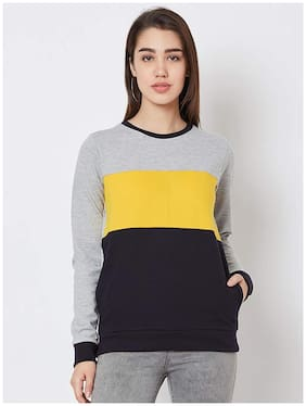 NUN Women Blended Sweatshirt Multi