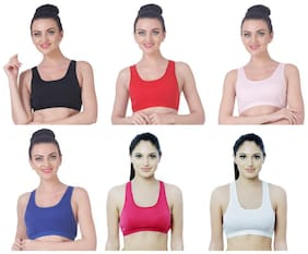 Nutex Sangini Women Sports Bra (Pack Of 6)