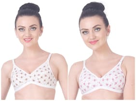 Polka Dots Non Padded Pack of 2