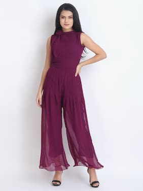 Women Solid Jumpsuit ,Pack Of Pack of 1