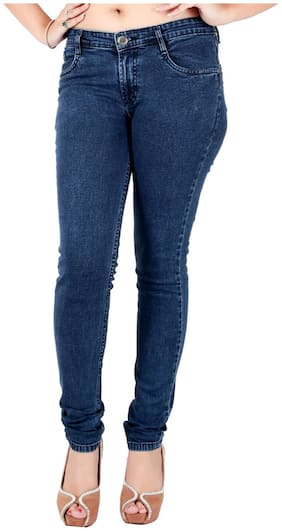 Obeo Women Blue Slim fit Jeans