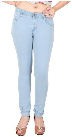 Obeo Women Blue Slim fit Jeans