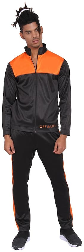 Regular Fit Polyester Track Suit Pack Of 1