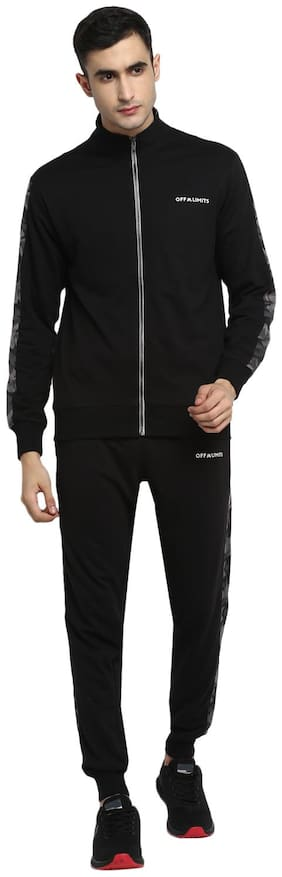 Regular Fit Polyester Track Suit Pack Of 2