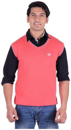 Ogarti Men Cotton Sweater - Pink