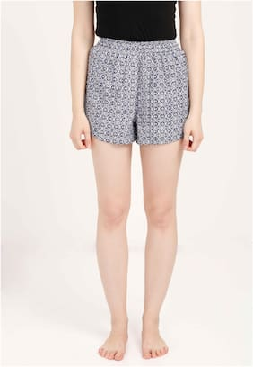 Olli Women Printed Regular shorts - Multi