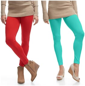 Cotton Solid Leggings 2