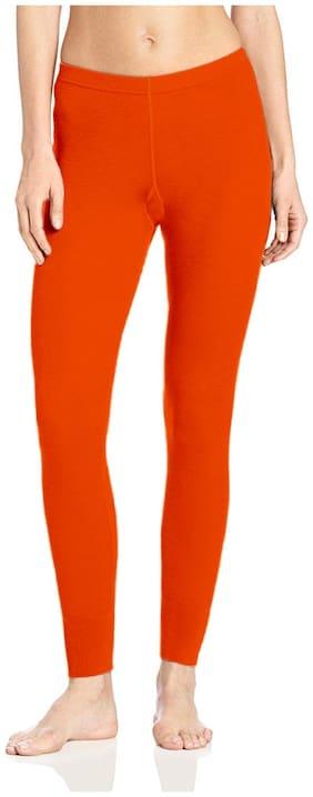 OMIKKA Cotton Leggings - Orange