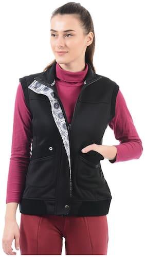 On-Vers Women Solid Regular jacket - Black