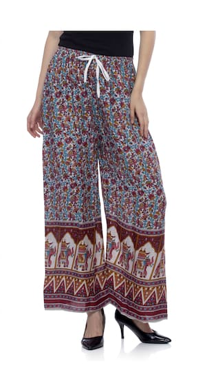 Jaipur Palazzo Femme Print Women's Multicolored One RTq6wn