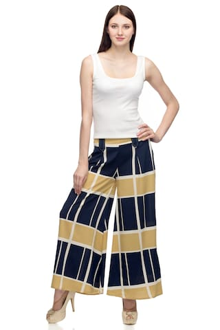 Femme Loop with One Belt Women's Palazzo Printed aFx76dq
