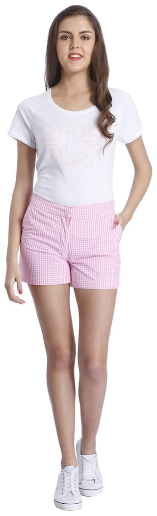 ONLY Checkered  Shorts(15119662)