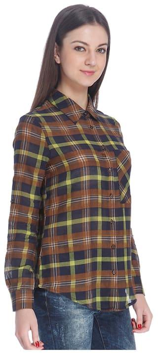 Women Shirt Only Only Blue Women Casual PxTqR41T