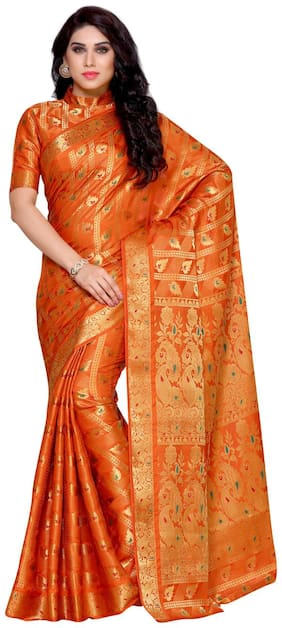 Silk Universal Saree ,Pack Of 1