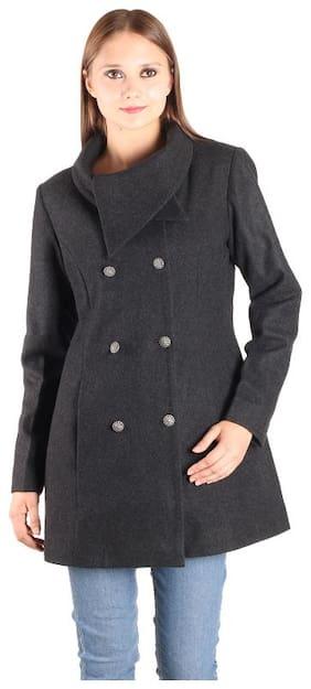 Owncraft Charcoal Wool Coat