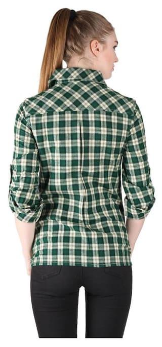 Owncraft Check Green Owncraft Acrylic Green Check Acrylic Shirt Shirt tPwqgg
