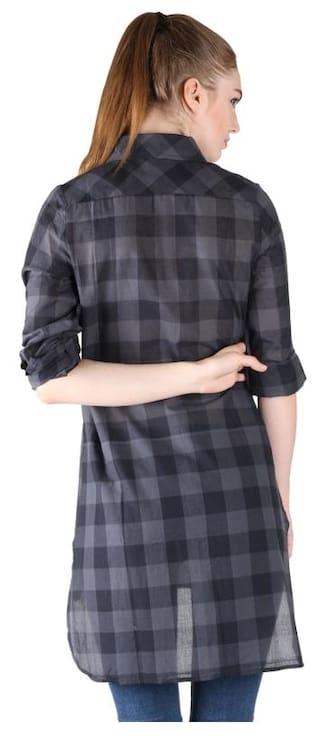 Low Shirt Grey Check High Owncraft qp1XwnU