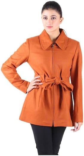 Owncraft Orange Woollen Coat