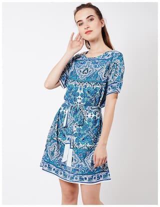 OXOLLOXO Multi Printed A-line dress
