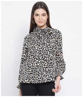 Oxolloxo Polyester Women Multi A-Line Top