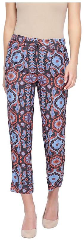 Oxolloxo Women Multi Regular fit Regular pants