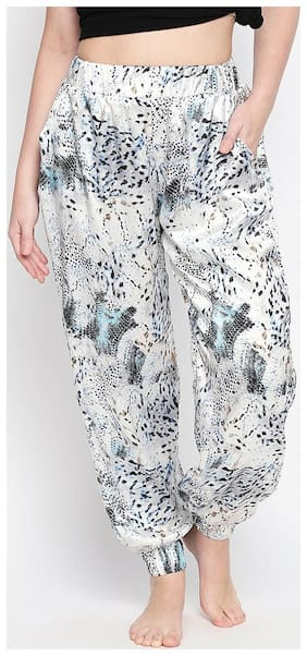 OXOLLOXO Women Polyester Printed Pyjama - Multi