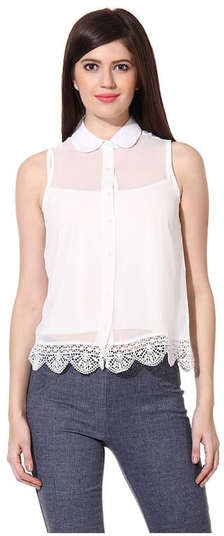 White White shirt shirt Polyester OXOLLOXO OXOLLOXO OXOLLOXO Polyester wqOWn1Rx6