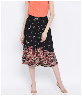 Women Floral Skirt ,Pack Of 1