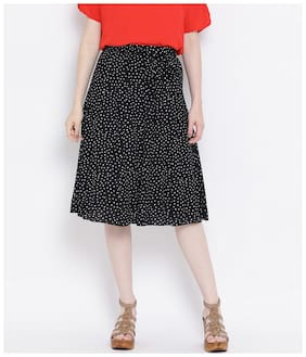 Women Polka Dots Skirt ,Pack Of 1