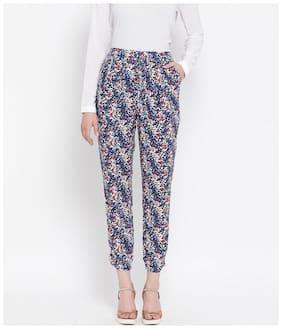 Oxolloxo Women Blue Regular fit Regular pants