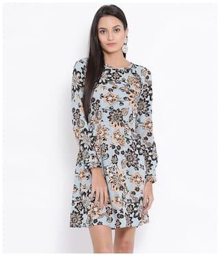 Oxolloxo Multi Floral A-line dress