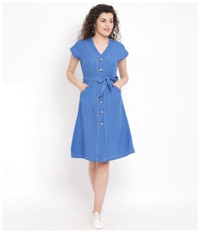 Women Solid Dress
