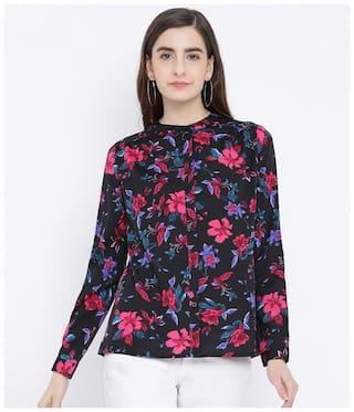 Oxolloxo Women Multi Floral Regular Fit Shirt